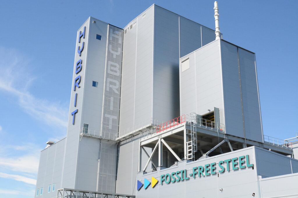 The HYBRIT pilot plant in Luleå, Sweden.